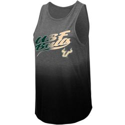 USF Bulls Juniors Logo Dip Dye Tank By Colosseum