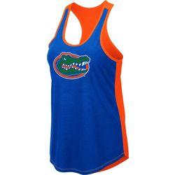 Florida Gators Juniors Logo Scoop Neck Tank By Colosseum