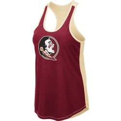 Florida State Juniors Logo Sleeveless Top By Colosseum