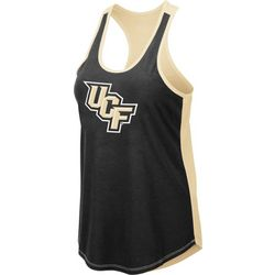 UCF Knights Juniors Logo Scoop Neck Tank By Colosseum