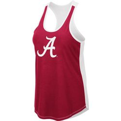 Alabama Juniors Logo Scoop Neck Tank By Colosseum