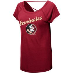 Florida State Juniors Jeweled Logo T-Shirt By Colosseum