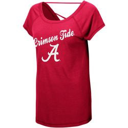 Alabama Juniors Jeweled Logo T-Shirt By Colosseum