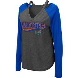 Florida Gators Juniors Cutout Long T-Shirt By Colosseum