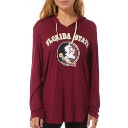 FSU Seminoles Juniors Logo Hoodie By Colosseum