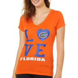 Florida Gators Juniors Love Logo T-Shirt By Colosseum