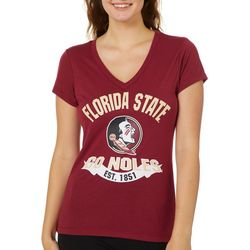 Florida State Juniors Go Noles Est 1851 T-Shirt By Colosseum