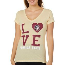 Florida State Juniors Love Logo T-Shirt By Colosseum