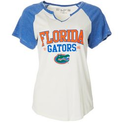 Florida Gators Juniors Logo Raglan T-Shirt By The Victory