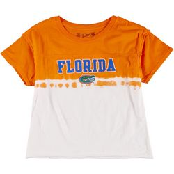 Florida Gators Juniors Cropped Dip-Dye Tee By Retro Brand