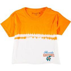 Juniors Cropped Dip-Dye Tee By Retro Brand
