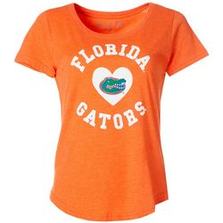 Florida Gators Juniors Heart Logo T-Shirt By The Victory