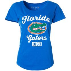 Florida Gators Juniors Script Logo T-Shirt By The Victory