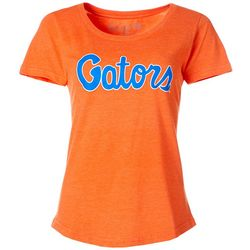 Florida Gators Juniors Gators Script T-Shirt By The Victory