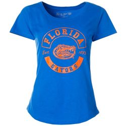 Florida Gators Juniors Print Logo Tee By The Victory