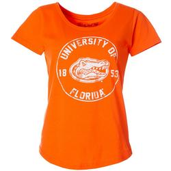 Juniors Distressed T-Shirt By The Victory