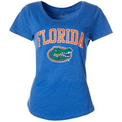 Florida Gators Juniors Heathered Logo T-Shirt By The Victory