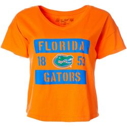 Florida Gators Juniors Cropped Logo T-Shirt By The Victory
