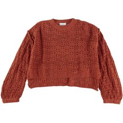 Patrons of Peace Juniors Cropped Chunky Sweater