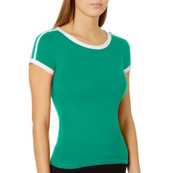 Splash Juniors Solid Ringer T-Shirt