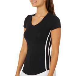 Splash Juniors Athletic Side Striped T-Shirt