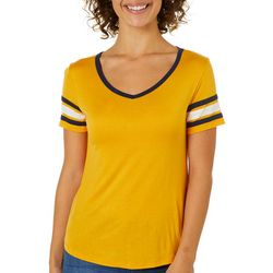 Splash Juniors Athletic Striped T-Shirt