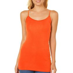 Splash Juniors Solid Adjustable Cami Tank Top