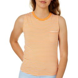Glitz Juniors Striped Tie Back Tank Top