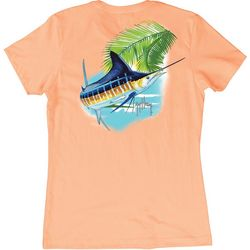 Guy Harvey Womens Marlin Paradise T-Shirt