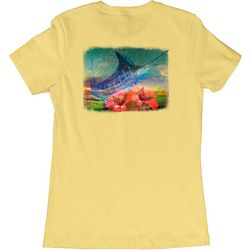 Guy Harvey Womens Wanderlust Sailfish T-Shirt