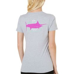 Guy Harvey Womens Sailfish Logo T-Shirt