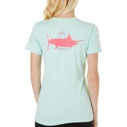 Guy Harvey Womens Sailfish Logo T-Shirt