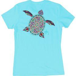 Guy Harvey Womens Turtle Beach T-Shirt