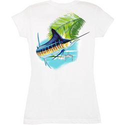 Guy Harvey Womens Marlin Paradise T-Shirt