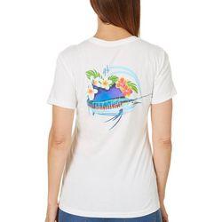Guy Harvey Womens Sailfish Color Crush T-Shirt