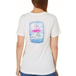 Guy Harvey Womens Sailfish Ocean T-Shirt