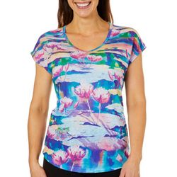 Ellen Negley Womens My Pad Or Yours Dolman Top