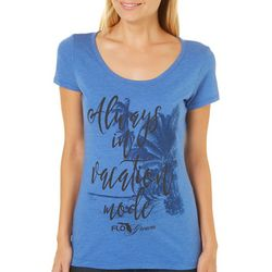 FloGrown Juniors Always In Vacation Mode T-Shirt