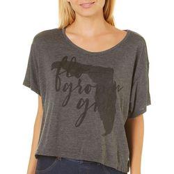 FloGrown Juniors Flo-Grown Girl Florida Forever T-Shirt
