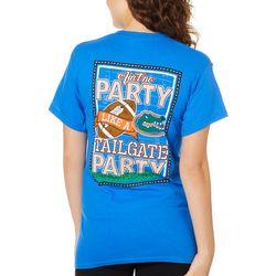 Florida Gators Juniors Party Tee By Girlie Girl Originals