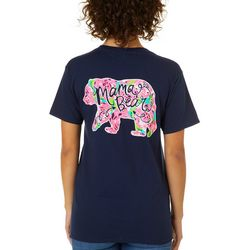 Girlie Girl Originals Juniors Mama Bear T-Shirt