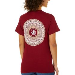 Florida Seminoles Juniors Boho Tee By Girlie Girl Originals