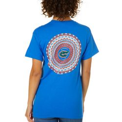 Florida Gators Juniors Boho Tee By Girlie Girl Originals