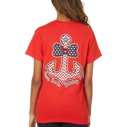 Girlie Girl Originals Juniors Sea To Shining Sea T-Shirt
