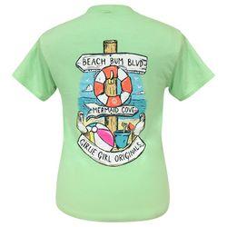 Girlie Girl Originals Juniors Beach Signs T-Shirt