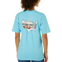 Its a Girl Thing Juniors Great Adventures T-Shirt