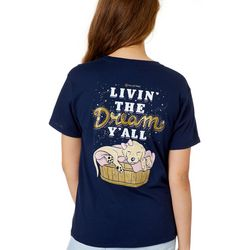 Its a Girl Thing Juniors Livin' The Dream Y'all T-Shirt