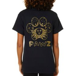 PAWZ Juniors Lunar Paw Print Short Sleeve T-Shirt