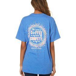 Jadelynn Brooke Juniors Coffee & Confetti T-Shirt