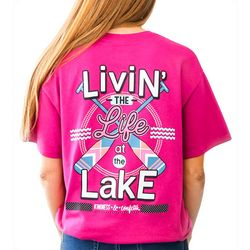 Kindness & Confetti Juniors Life At The Lake T-Shirt